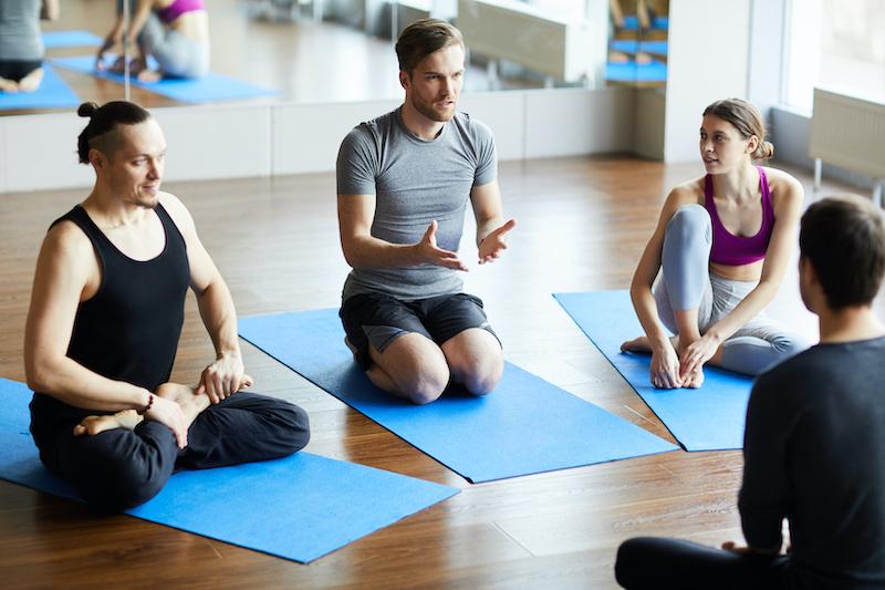 Yoga instructor classes