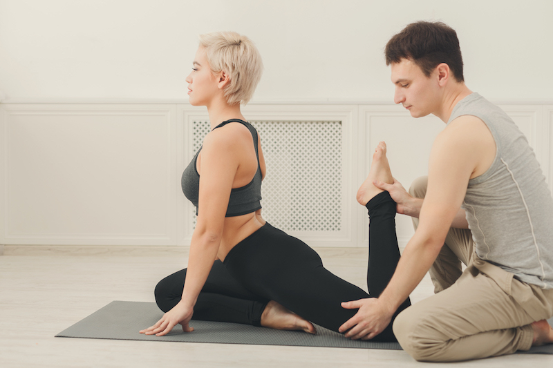 train to become a yoga instructor