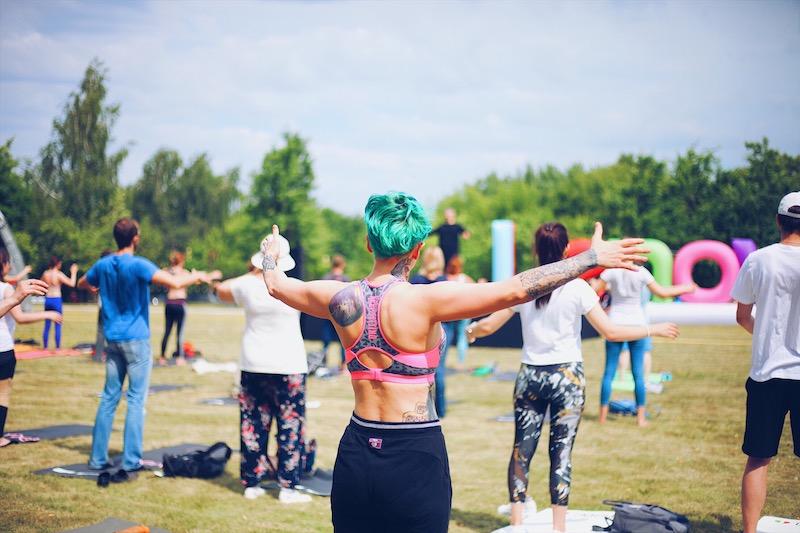 Outdoor yoga styles